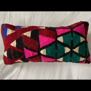 "15"" x 7"" Kilim Boho Pillow Cover"
